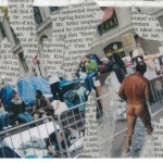 "Occupy Wall Street Postcard, 2012, 4"" x 6"""