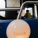 """TouchLights,"" interactive installation by PaperJAM, 2011"